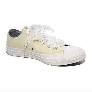 Converse All Star Cream Lace Brocade Low Top